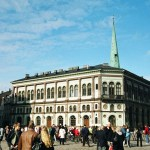 Centro de Riga, na Letônia