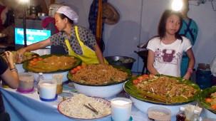 Comida de rua em BagKok