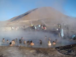 Geiser del Tatio, piscina sulfurosa