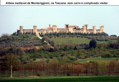 Monteriggioni, Toscana