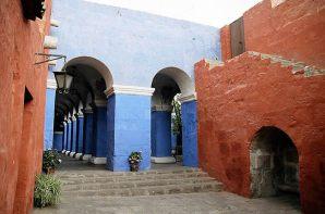 Mosteiro de Santa Catalina em Arequipa, Peru