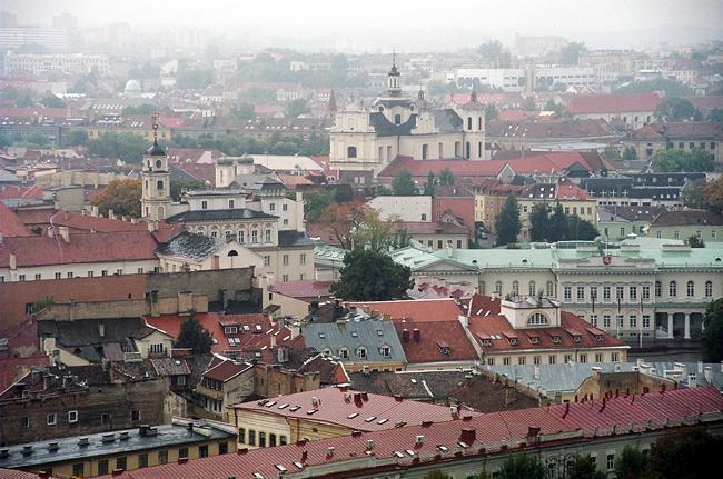 Panorâmica de Vilnius