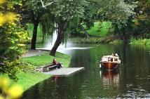 Parque em Riga, Letônia