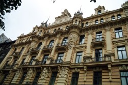 Prédio estilo Art-Deco, Riga, Letônia