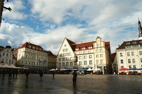 Centro histórico deTallinn, Estônia