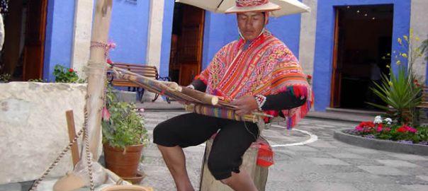 Artesão em Arequipa, Peru