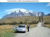 Torres del Paine, ponte