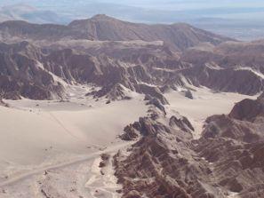 Vale da Morte, no Atacama