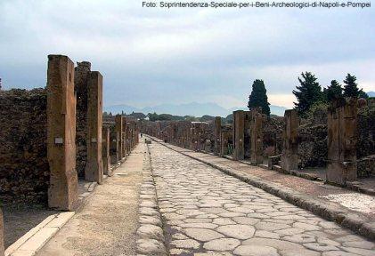 Via dell'Abbondanza. Pompeia