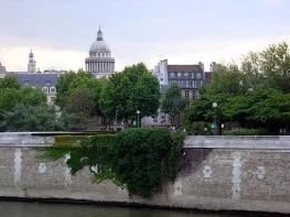 Île de la Cité vista do Sena