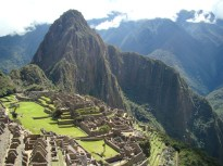 Machu Picchu, vista panorâmica, Peru