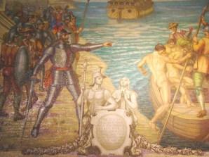 Mosaico na catedral de Lima, Peru