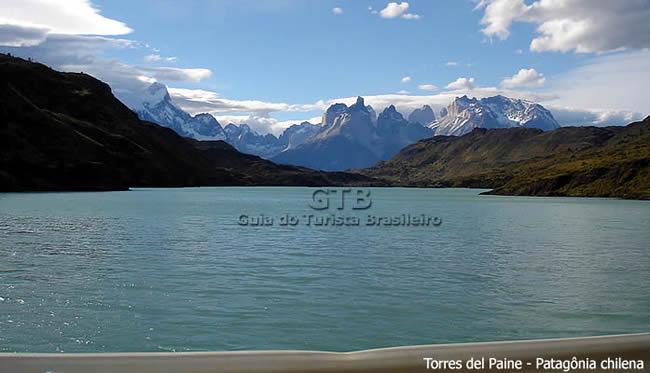 paisagem em Torres del Paine