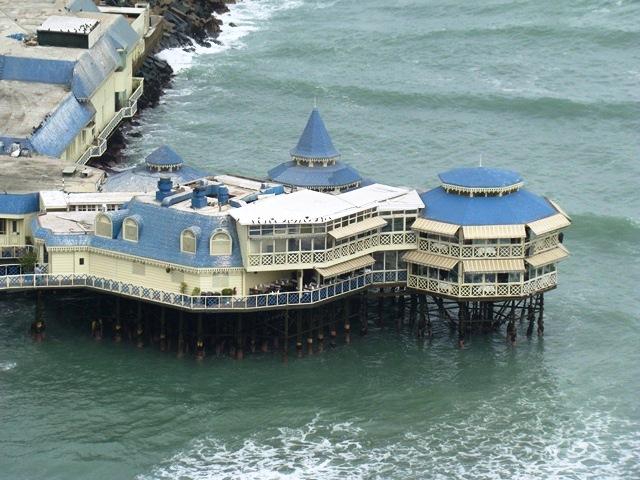 Restaurante Rosa Nautica em Lima, Peru