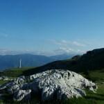 Agnone, montanha nevada