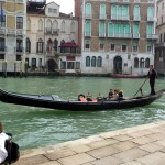 Gôndola no Canal Grande, Veneza-