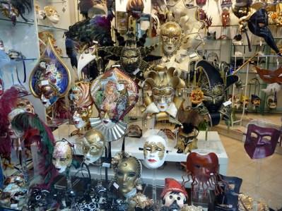 Mascaras do Carnaval de Veneza