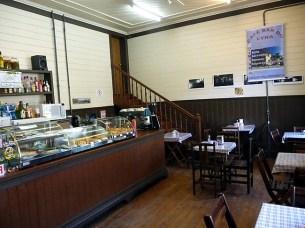Café-confeitaria em Paranapiacaba