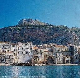 Cefalù vista do Mar, Sicília