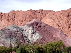 Cerro Colorado, em Purmamarca