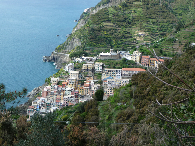 Cinque Terre, Riviera Italiana
