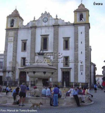 Igreja em Évora, Portugal