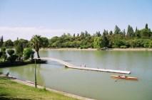 Lago no Pque. St-Martin, Mendoza