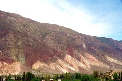 Paleta del Pintor, na Quebrada de Humahuaca, Argentina -