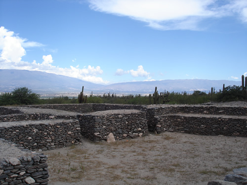 Ruínas da cidadela dos índios quilmes