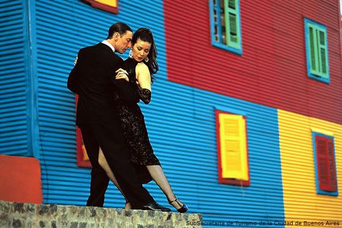 Tango em la Boca, Buenos Aires