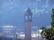 Torre da estação em Paranapiacaba