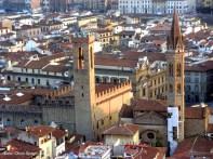 Vista panorâmica de Florença, Itália