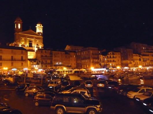 Bástia,Córsega, trecho frente ao porto.
