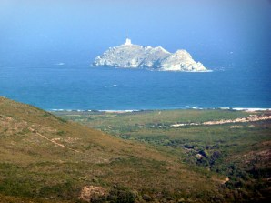 Cape Corse, ilha do lado ocidental