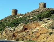 Cape Corse, torres