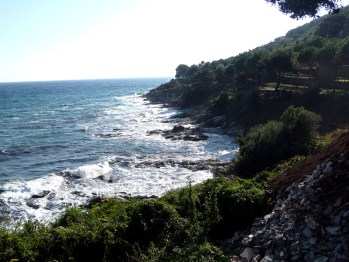 Cape Corse, litoral oeste