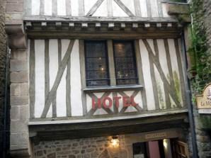 Normanda, Mont St-Michel, casa normanda