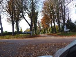 Normandia, Honfleur, paisagem de outono