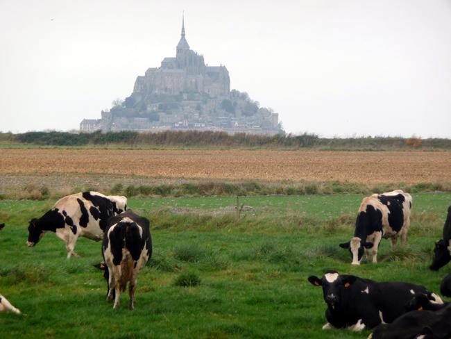 Normandia, Mont St-Michel,