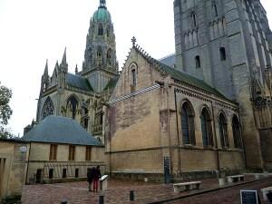 Bayeux, lateral da catedral de Notre Dame