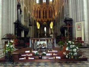 Bayeux,orgão da Catedral de Notre Dame de Bayeux