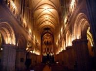 Bayeux, interior da catedral