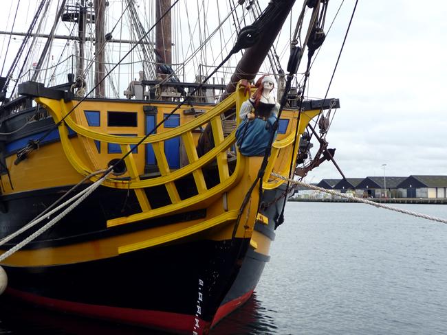 Saint-Malô, replica de navio corsário
