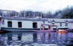 Índia, Cachemira, house-boat