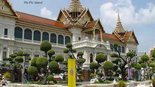 Antigo Palácio Real em Bangkok