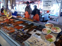 Bergen, Noruega, mercado do porto - Foto Manual do Turista