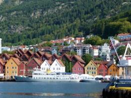 Cidade de Bergen, Noruega - Foto Manual do Turista