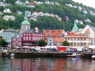 Bergen, Noruega, porto