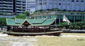 Canal em Bangkok