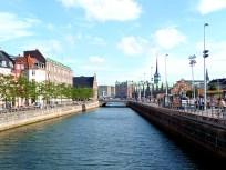 Canal em Copenhagen